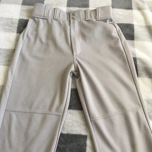 B2G1! Rawlings Grey Baseball Pant - Size M